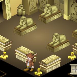 المعبد الفرعونى المصرى