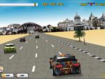لعبة السيارات النارية