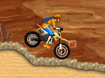 لعبة سباق دراجات الصحراوية