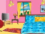 لعبة ديكور غرف نوم