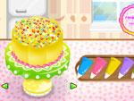 لعبة الكعكة السحرية