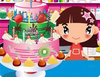 لعبة طبخ الكعكة