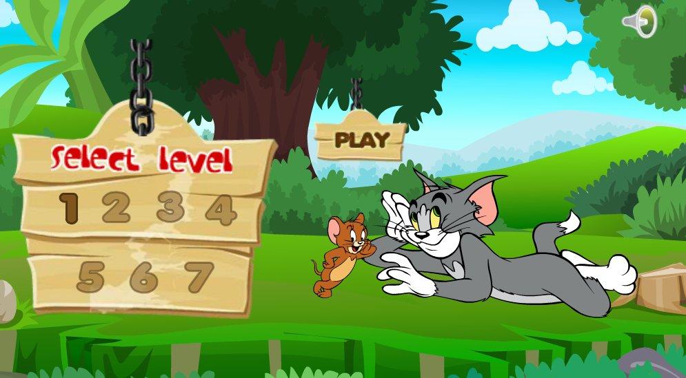 لعبة توم وجيري الجديدة