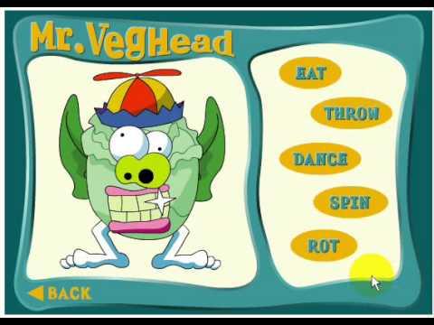 لعبة وجوه بالخضروات