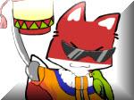 لعبة ملابس القط