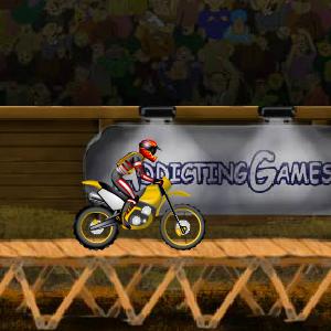 لعبة استعراض الدراجات