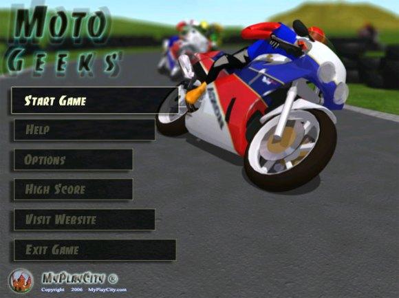 لعبة بطولة الدراجات النارية