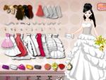 لعبة فستان زفافي