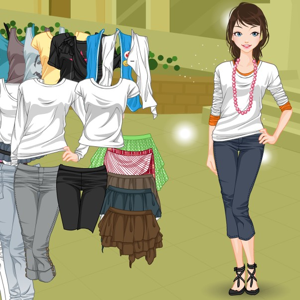 لعبة ملابس كاجوال رائعة