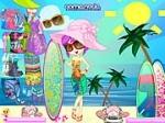لعبة جميلة الشاطئ