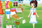 لعبة ملابس الحديقة