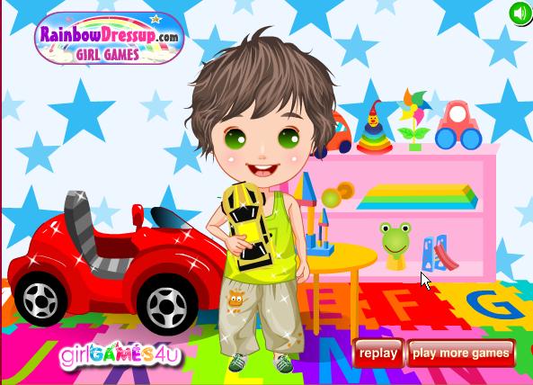 لعبة ملابس اطفال