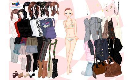 لعبة ملابس بناتي