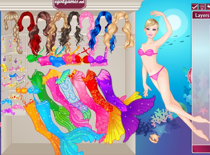 لعبة عروسة البحر السحرية