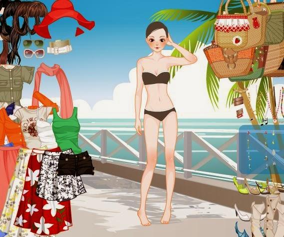 لعبة ملابس البحر