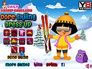 لعبة دورا ملابس التزلج