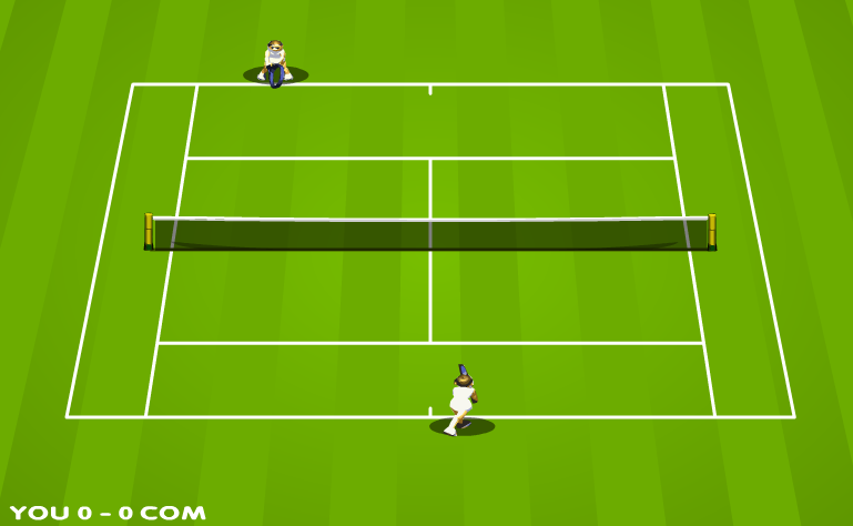 لعبة بطولة التنس الدولية