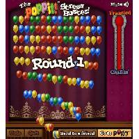 لعبة فرقعة البالونات