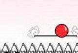 لعبة البالونات الحمراء