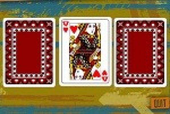 لعبة الثلاث ورقات