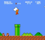 لعبة مغامرات ماريو في القلعة