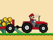 لعبة شاحنة مزرعة الفطر مع ماريو