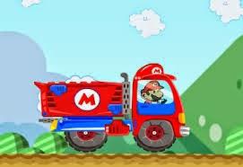 لعبة شاحنة نقل بضائع ماريو