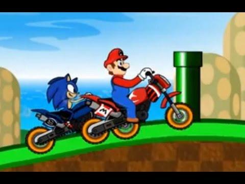 لعبة سباق ماريو و سونيك و بن تن