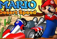 لعبة سباق ماريو فى الصحراء