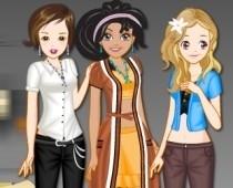 لعبة تلبيس فتيات رائعات