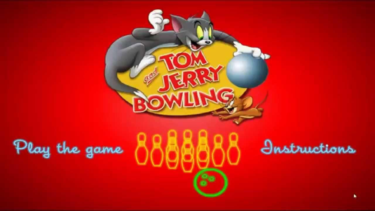 لعبة بولينج توم وجيري