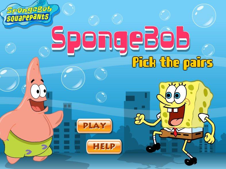 لعبة ذاكرة سبونج بوب