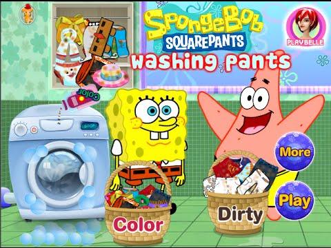 لعبة سبونج بوب وباتريك ستارغسيل الملابس