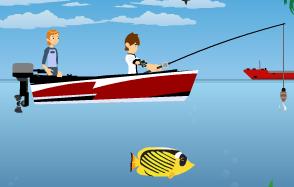 لعبة بن 10 صياد السمك 2