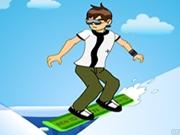 لعبة تزلج بن تن على الجليد