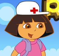 لعبة الممرضة دورا وانقاذ موزو