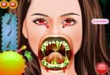 لعبة تصليح أسنان مصاصة الدماء