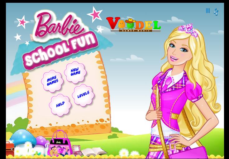 لعبة مغامرات باربي في المدرسة