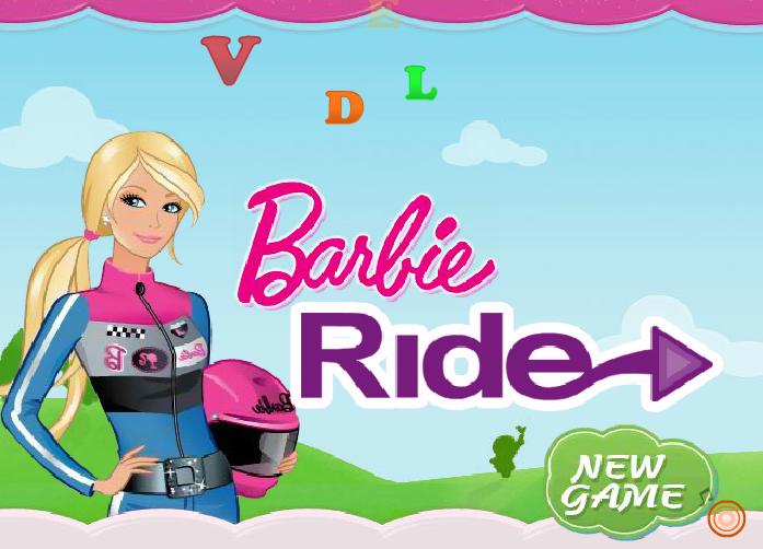 لعبة دراجة باربي النارية
