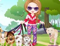 لعبة يوم نزهة الكلاب