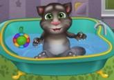 لعبة حمام القط المتحدث