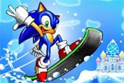 لعبة سونيك التزلج فى الفضاء