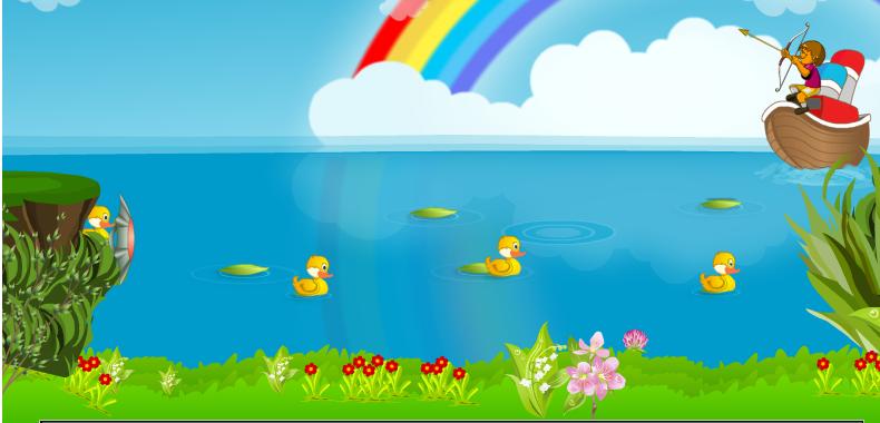 لعبة إنقاذ البط