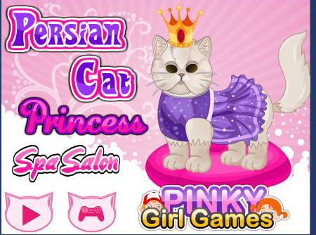 العاب بنات القط الملك والملكة سابا