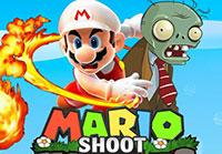 لعبة ماريو يصوب على الزومبي