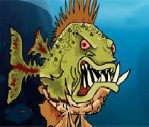 لعبة سمكة الزومبي 3