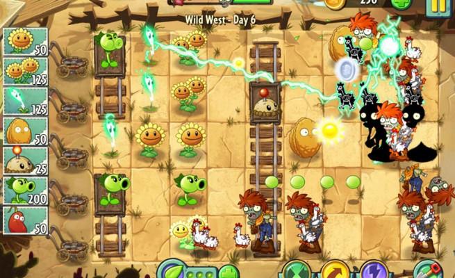 لعبة الزومبي ضد النباتات 2