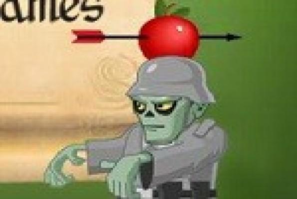 لعبة اصابة التفاحة 2