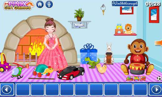 لعبة هروب الأميرة من الغرفة