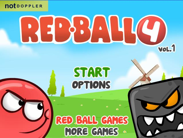 لعبة مغامرات الكرة الحمراء 4